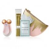 Подарочный набор NuFACE GOLD MINI - микротоки для лица и подбородка